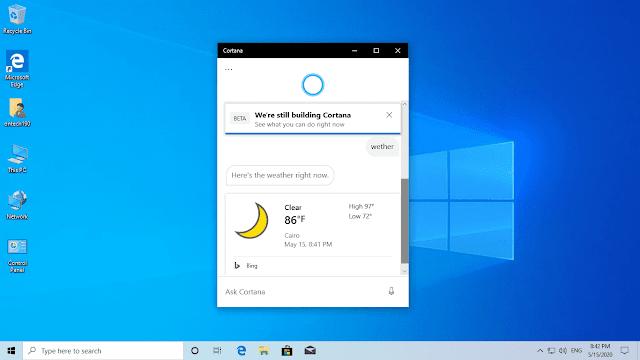 تحميل وتثبيت ويندوز 10 تحديث مايو 2020 إصدار 2004 نواة 32/ 64 بت بالغات الثلاث   Download Windows 10 version 2004