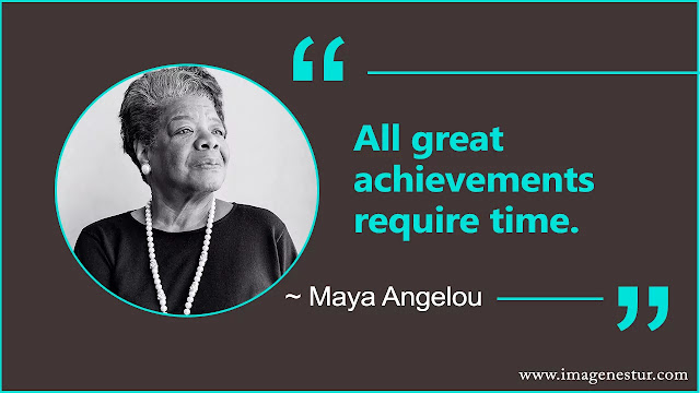 Maya Angelou Quotes About success