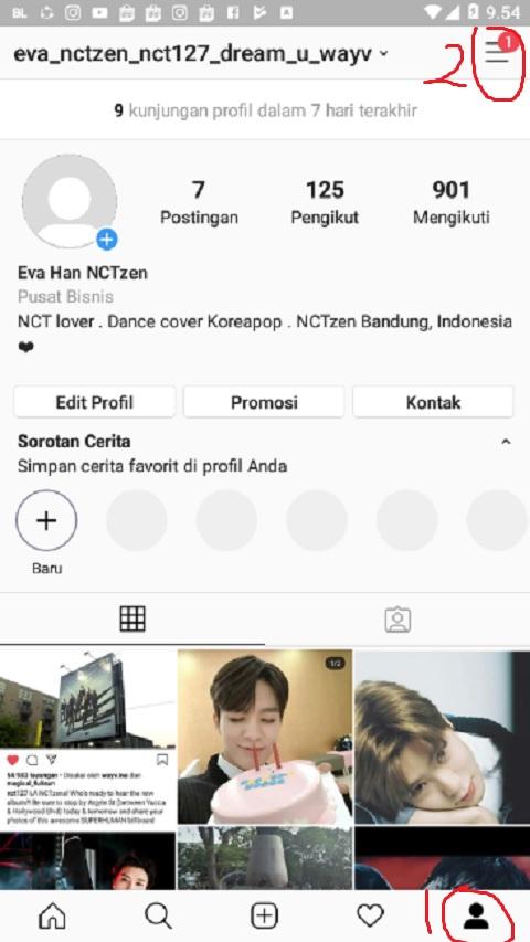 Akun Profil Instagram