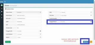 Bug di Aplikasi Emis Online1