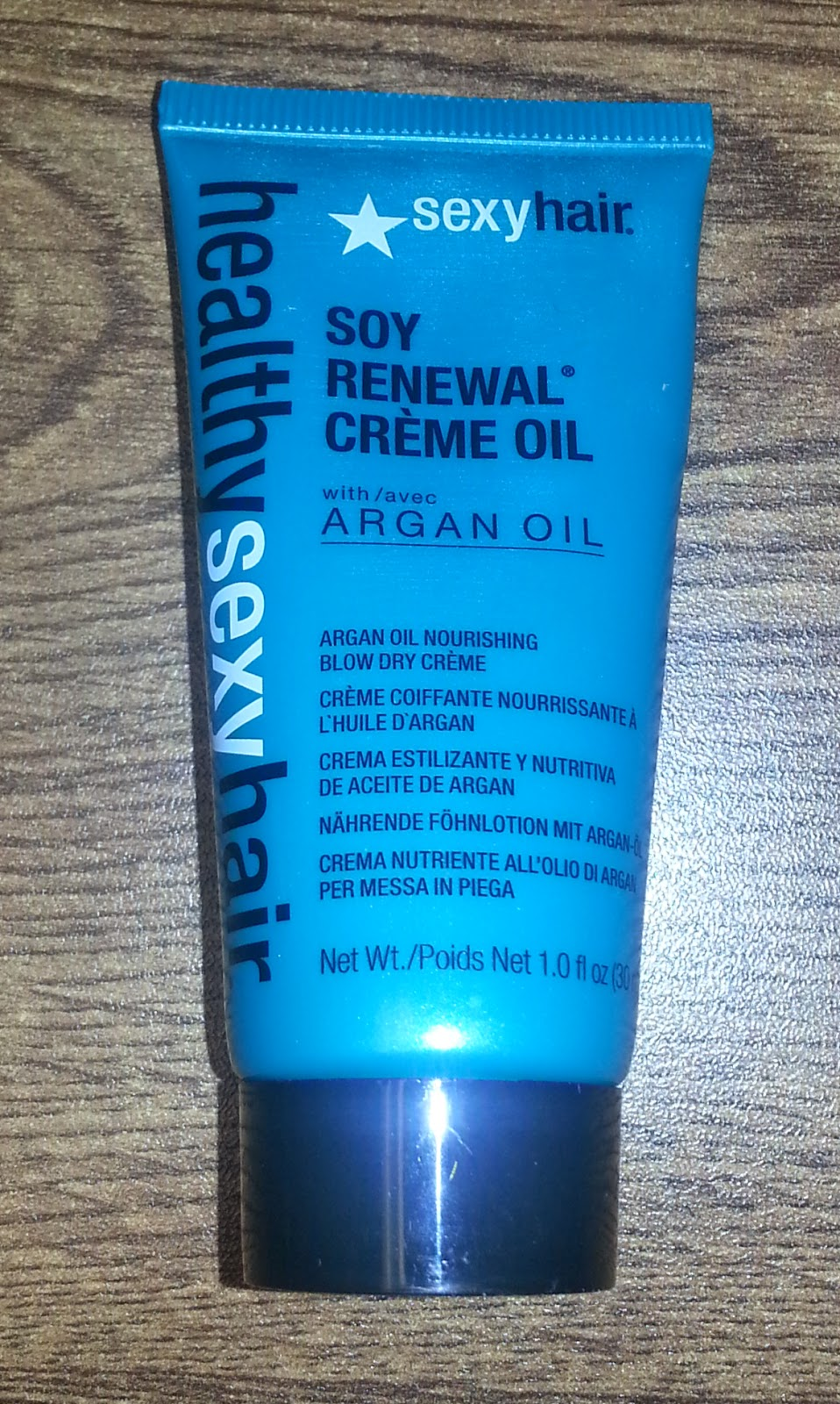 Sexy Hair Soy Renewal Creme Oil