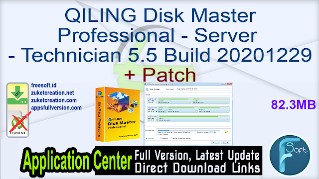 QILING Disk Master All Editions 5.5 Build 20201229 + Patch