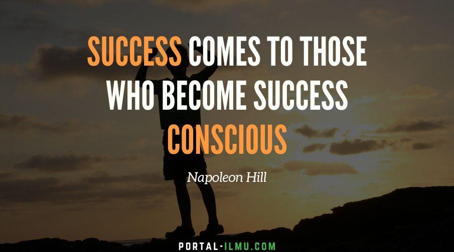 Kata Kata Bijak Napoleon Hill Penulis Buku Think and Grow Rich