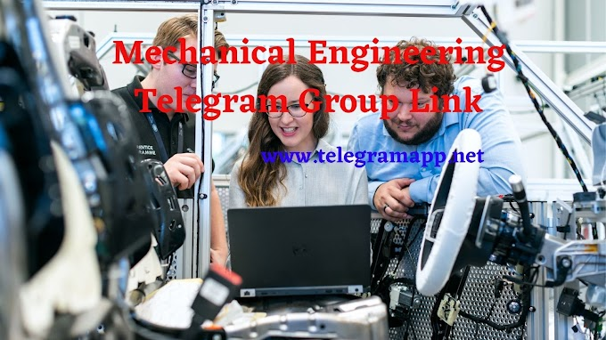 Join Mechanical Engineering Telegram Group Link