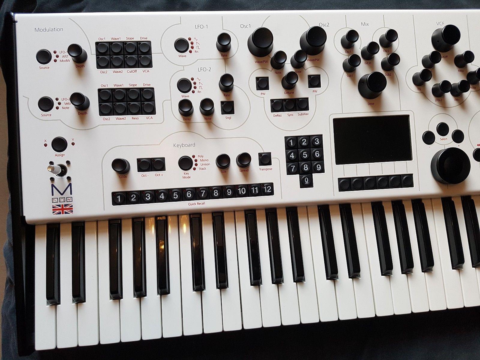 matrixsynth modal electronics 002 synthesizer w original box. Black Bedroom Furniture Sets. Home Design Ideas