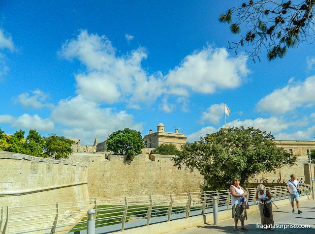 Muralhas de Mdina, Malta