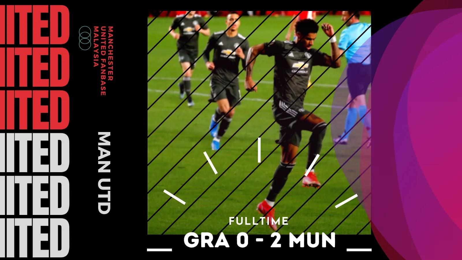 Granada 0 - 2 Man United - Kaki Di Separuh Akhir UEL