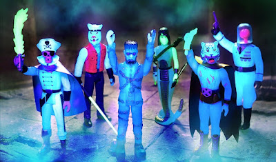 The Worst ReAction Series 2 Glow in the Dark Edition Action Figures by Super7