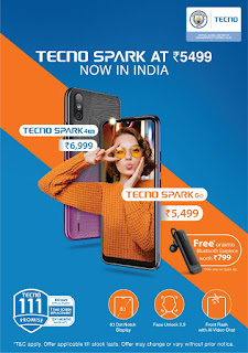TECNO launches an All-New Spark Series in India