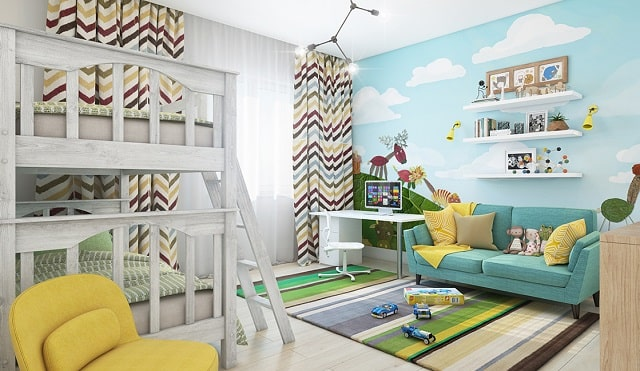 amazing wall decor ideas kids room childrens bedroom walls decoration