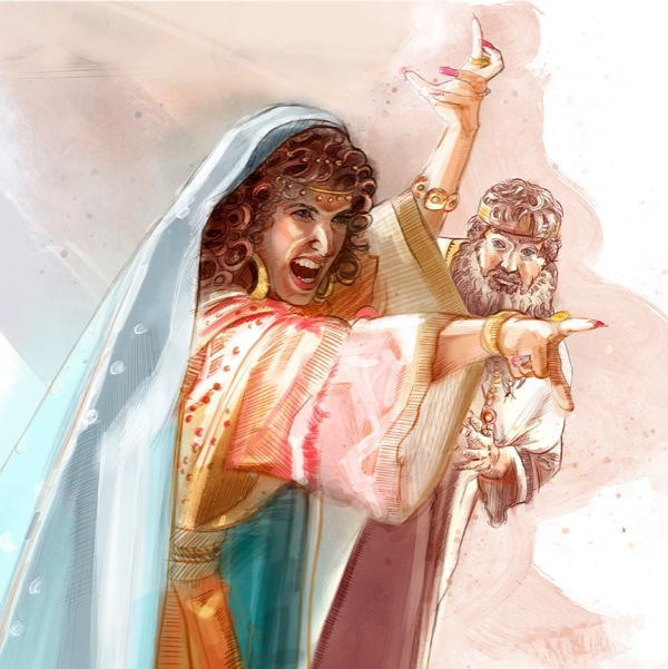 Jezebel, in turn, threatened Elijah's life, causing him to flee (1 Kings 19:1-3).