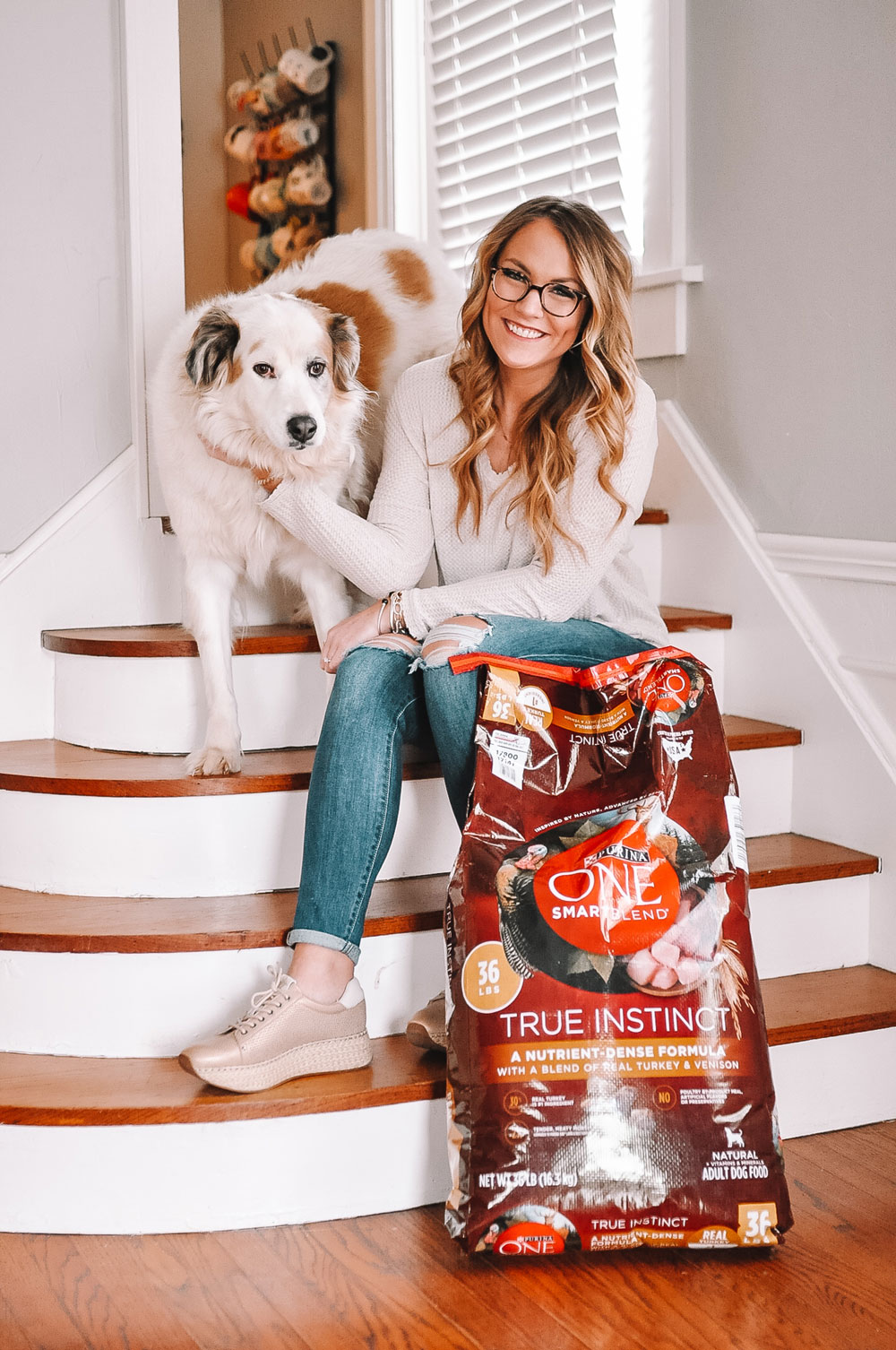 OKC Blogger Amanda Martin and her dog, Chloe