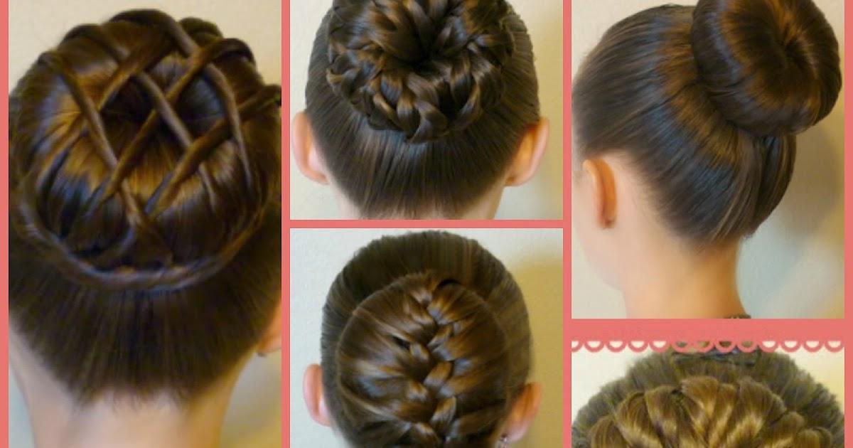 7 Ways To Make A Bun Using A Hair Donut Princess Hairstyles