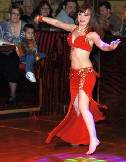 Belly dancers sometimes go barefoot and if the party you're attending will be held inside<br>Wilma Flintstone and their baby Pebbles were barefoot.  Daisy Mae from lil' Abner never wore shoes.