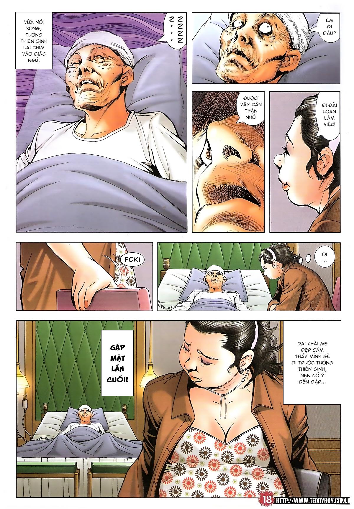 Người Trong Giang Hồ chapter 1655: bước cuối cùng trang 17