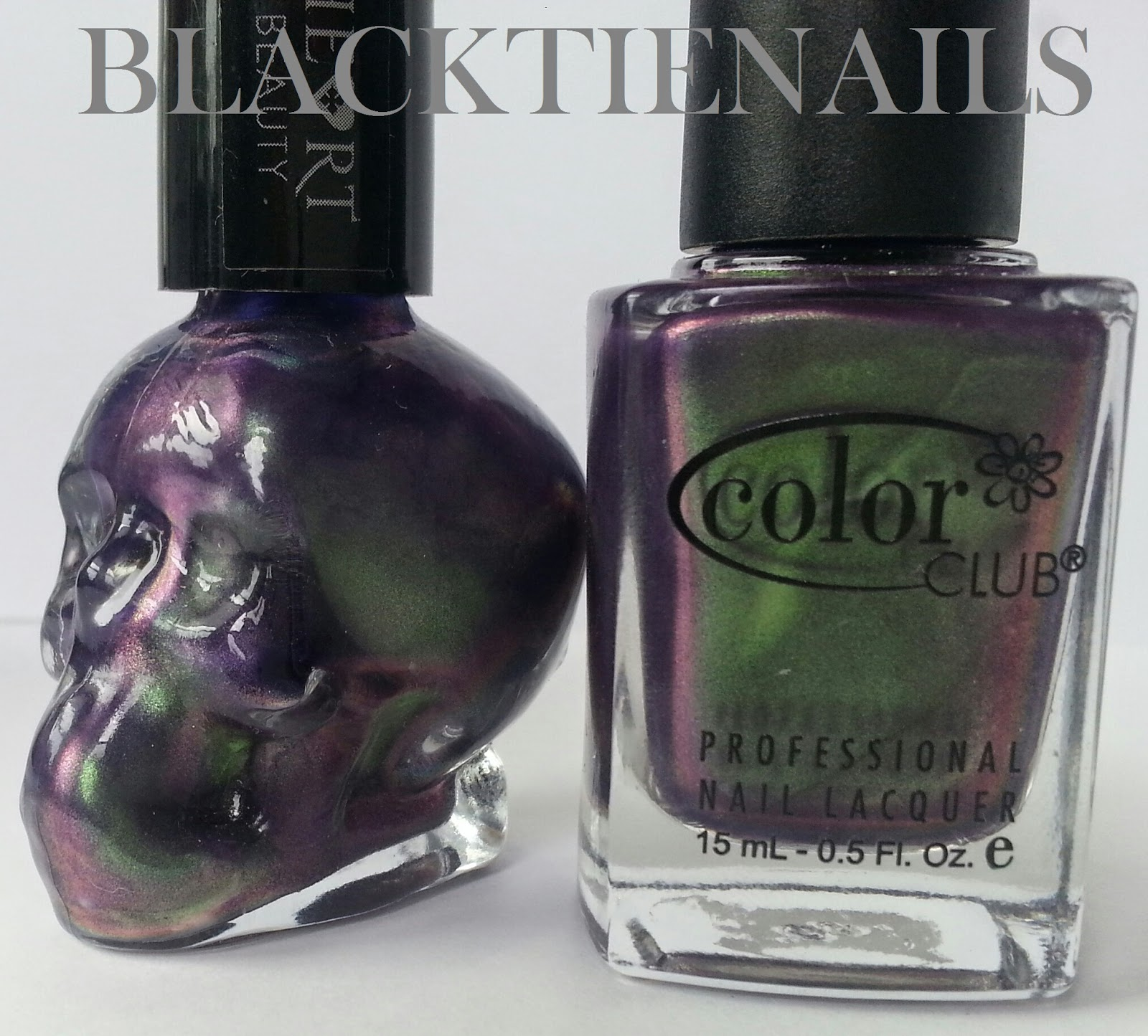Black Tie Nails Blackheart Beauty Nail Polish Swatches And Comparison Part 2