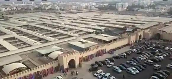سوق شعبي في الطائف