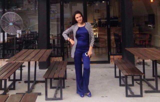 Diana Danielle di kafe miliknya, Born & Bread di Kuala Lumpur. (Gambar: Diana Danielle)
