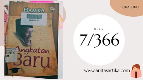 Novel Ankatan Baru Buya Hamka: Cocok untuk Bacaan Freshgraduated hehe