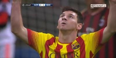 UEFA Group H: Milan 1 vs 1 Barcelona 22-10-2013