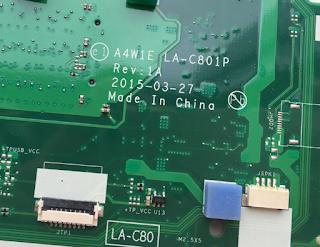 Aspire Aspire ES1-420 Mainboard A4W1E LA-C801P Laptop Bios