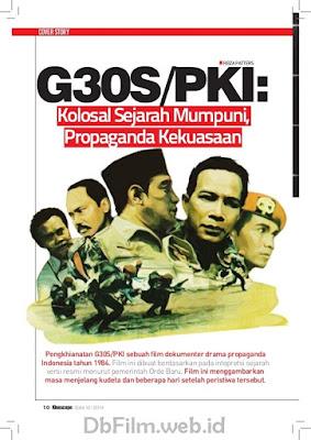 Sinopsis film Pengkhianatan G30S/PKI (1984)