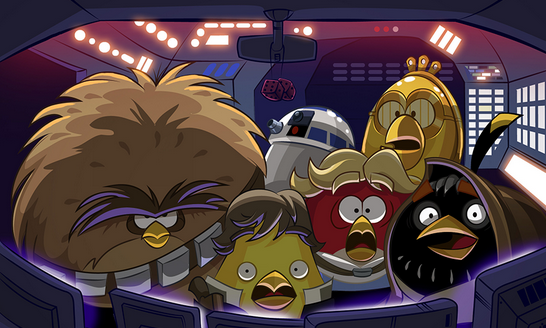 Gameplay Angry Birds Star Wars