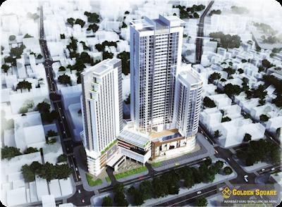 Phối cảnh chung cư Golden Square Đà Nẵng