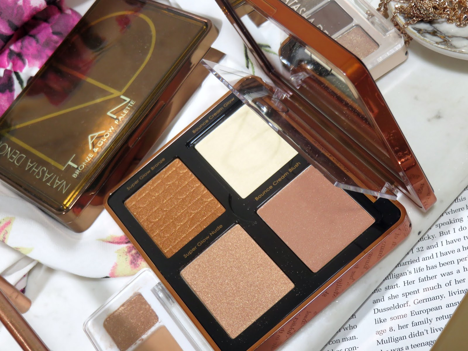 Natasha Denona Bronze Face Glow Palette Review and Swatches
