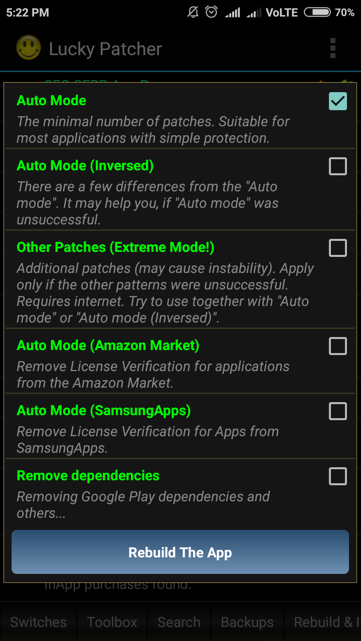 Lucky Patcher Apk For Unrooted Phones