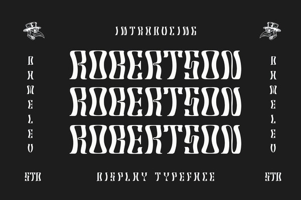 Robertson Display Font