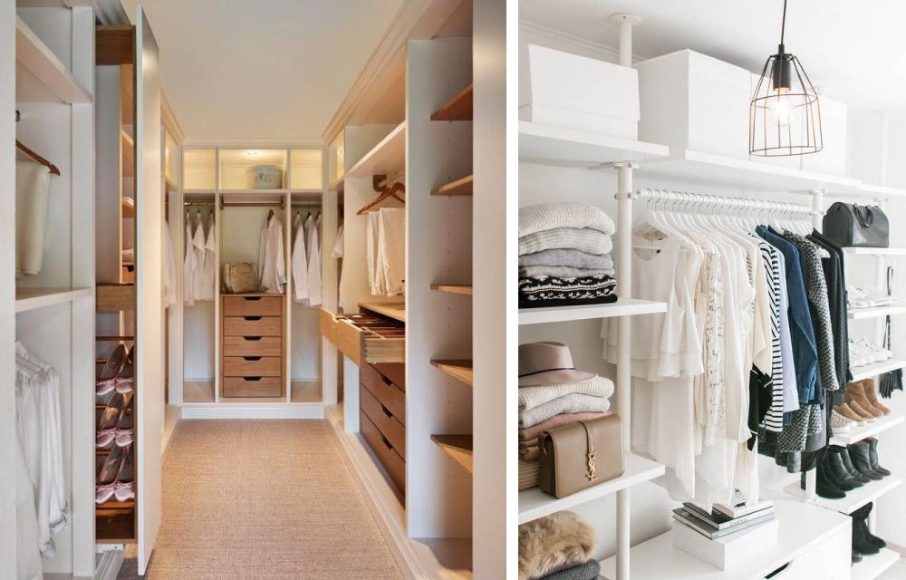 Cabine armadio per tutti gli spazi blog di arredamento e - Idee cabina armadio ...