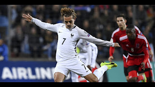 France vs Luxembourg Live Stream Football online World Cup Qualifiers today 3-September-2017