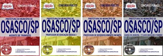 Apostila concurso Prefeitura de Osasco SP 2017