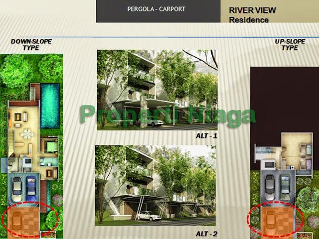 Properti-Niaga-carpot-River-View-Residence-Sentul-City