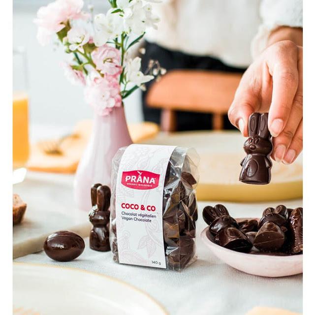 Chocolat végétalien - Prana