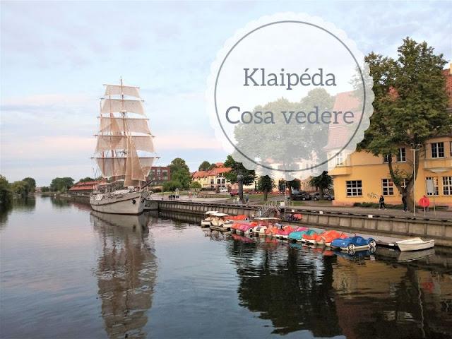 Cosa vedere a Klaipéda: veliero Meridianas