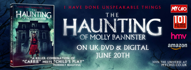 The Haunting of Molly Bannister banner