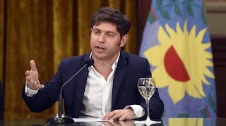 """Luis Caputo, elogió al gobernador de la provincia de Buenos Aires Axel Kicillof por """"recular"""" y tomar la decisión correcta con respecto al pago del bono BP21."""