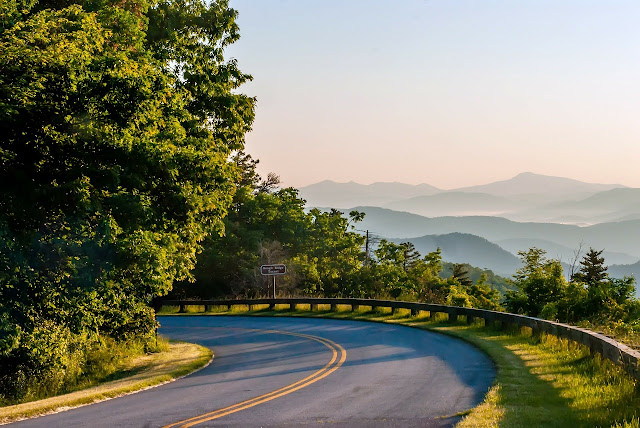 Roadtrip østkysten - Blue Ridge Parkway