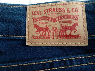 Levi's Back Leather Patch Women