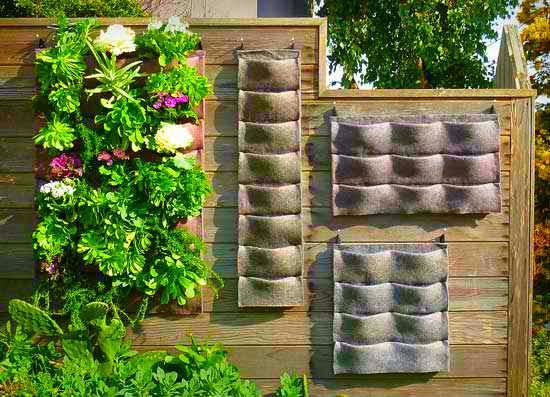 Fotos de jardines y agricultura vertical for Materiales para jardines verticales
