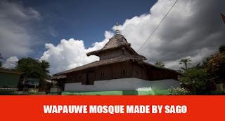 Tempat Wisata di Maluku masjid wapauwe