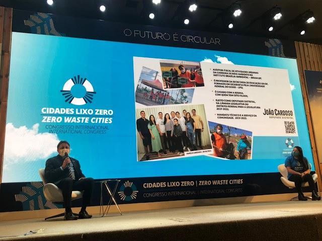 Deputado João Cardoso participa do Congresso Internacional Cidades Lixo Zero