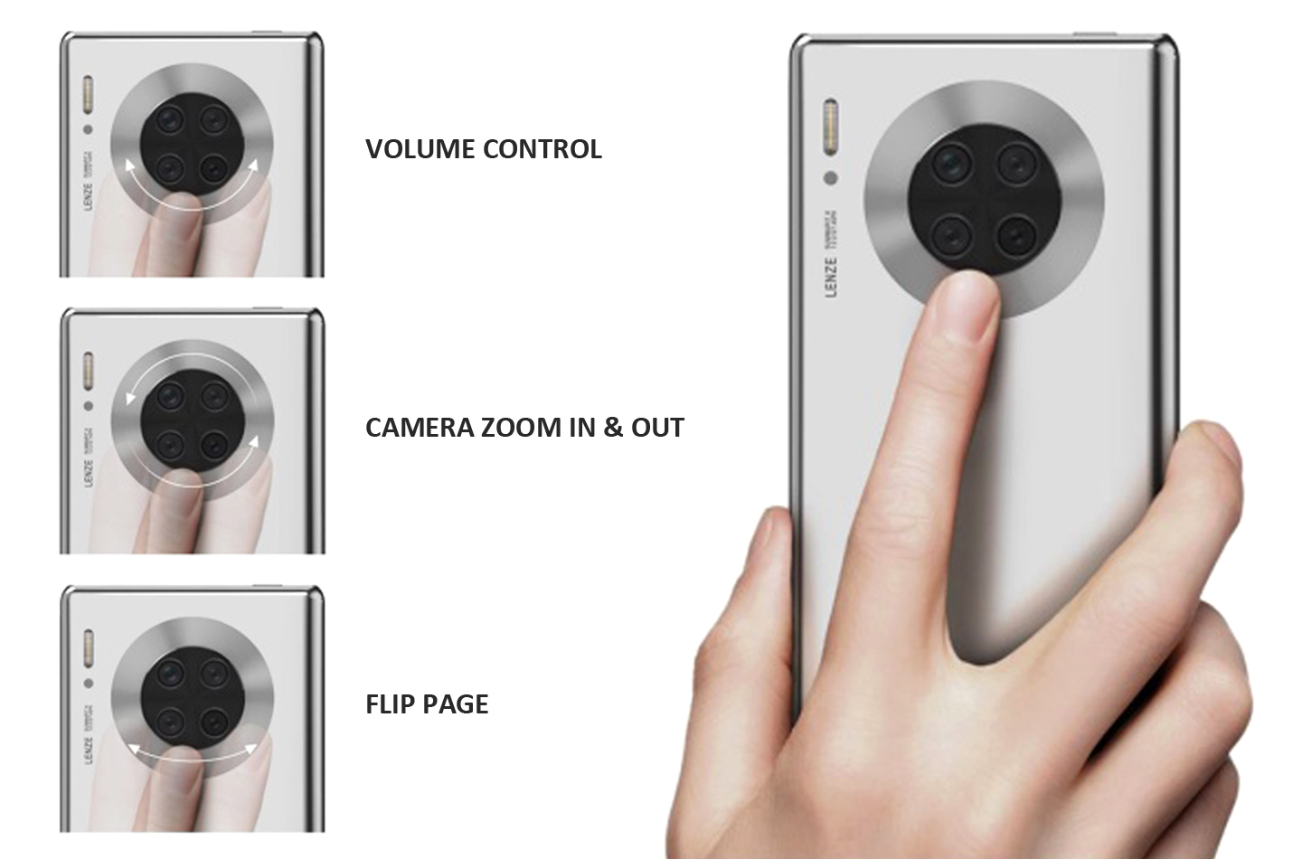 Huawei Mate 40 Pro can get a ring display encircling the main camera module