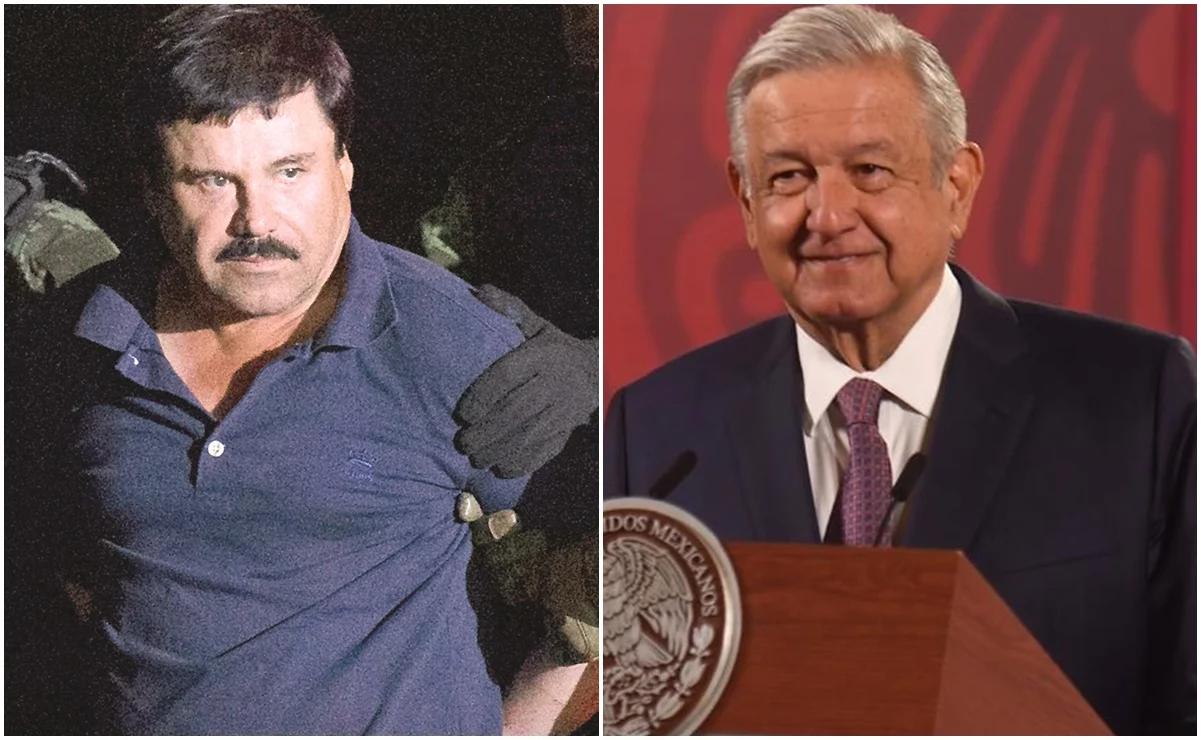 "Presidente Obrador ofrece disculpa por llamar ""El Chapo"" a Joaquín Guzmán Loera"