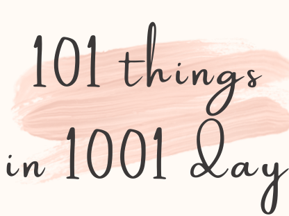 101 things list
