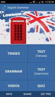 Learn English Grammar Quickly App