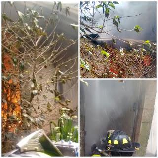 Se incendia casa en colonia 23 de marzo en Xalapa