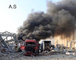 مرصد الزلازل الأردني: انفجار بيروت يعادل طاقة زلزال بقوة ٤،٥ ريختر